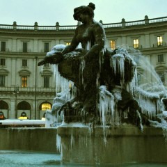 Foto Roma – Fontana con Ghiaccio