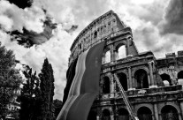 Foto Roma – Roma Colosseo bianco e nero