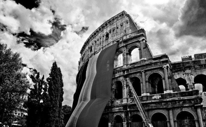 Foto roma roma colosseo bianco e nero pro loco di roma for Roma in bianco e nero