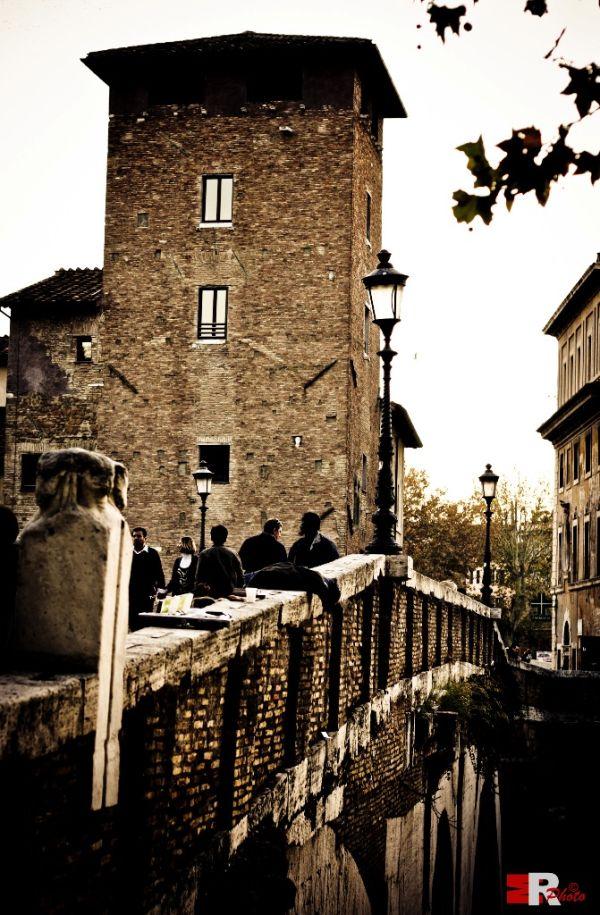 Ponte Fabricio Isola Tiberina