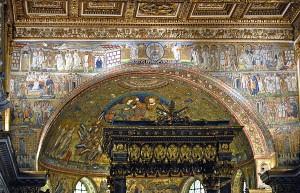Mosaici all' interno della Basilica di Santa Maria Maggiore
