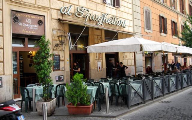"""Ristorante """"Ai Spaghettari"""" Roma"""