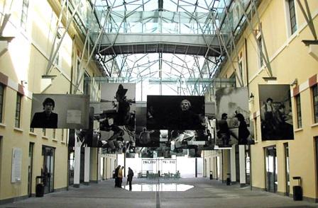 Un' esposizione al Macro - Via Nizza, Roma