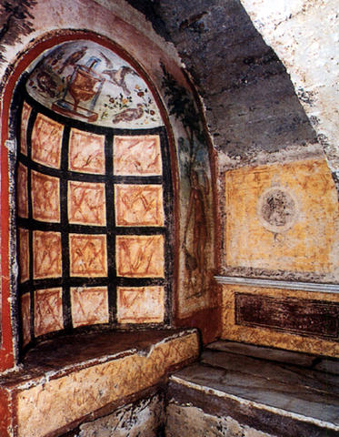 CCatacombe dei Santi Marcellino e Pietro - Roma - Via Casilina