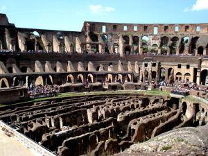 Architettura interna del Colosseo