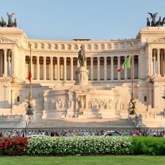 Piazza Venezia e il Vittoriano