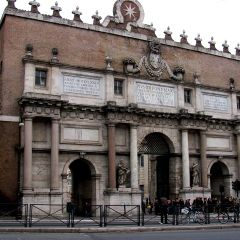 Porta del Popolo – Porta Flaminia