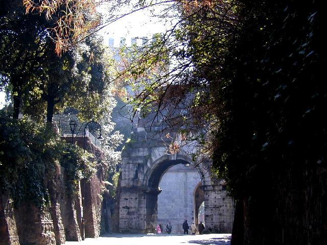 Porta San Sebastiano, Roma