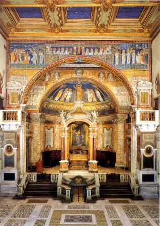 Interno Chiesa Santa Prassede