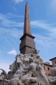 Obelisco Agonale - Fontana dei Quattro Fiumi