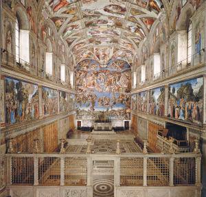 Musei Vaticani - Interno Cappella Sistina