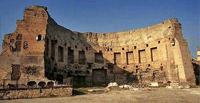 I resti della Domus Aurea