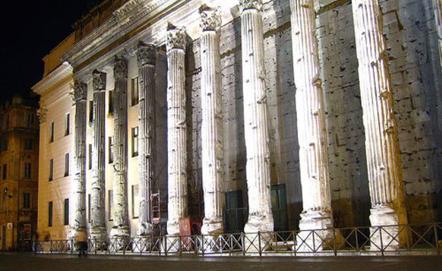 Tempio di Adriano in Piazza di Pietra