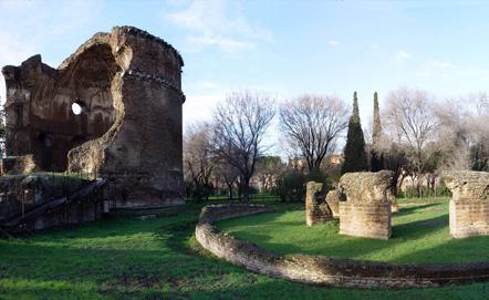 Villa dei Gordiani - Mausoleo