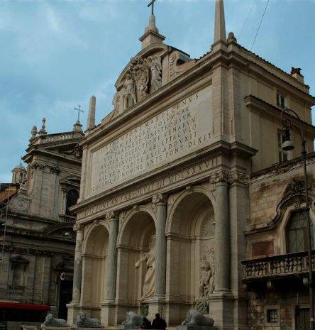 Fontana Acqua Felice, Roma
