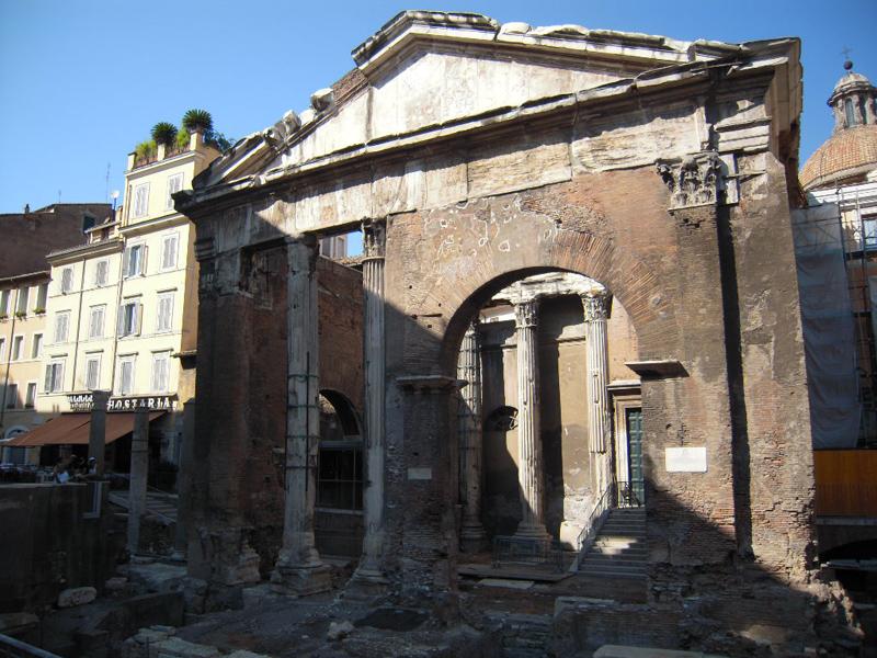 Portico di ottavia quartiere ebraico pro loco roma for Stima del costo portico