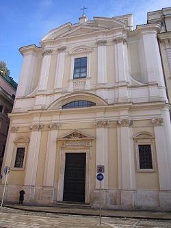 Chiesa di Sant' Apollinare, nei pressi di Piazza Navona