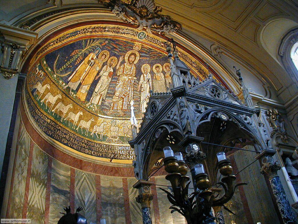 Interno della Chiesa di Santa Cecilia
