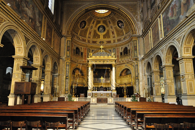 La chiesa di San Lorenzo in Damaso