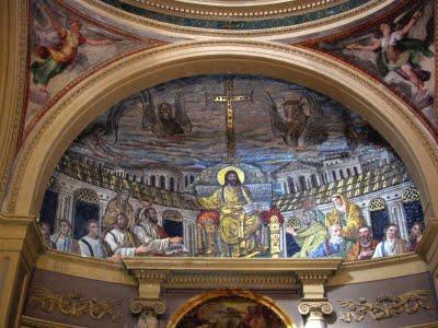 Chiesa di Santa Pudenziana, Interno - Roma