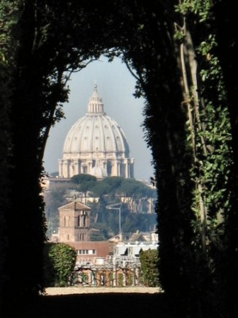 Il Buco della Serratura , Vista dall\u0027Aventino