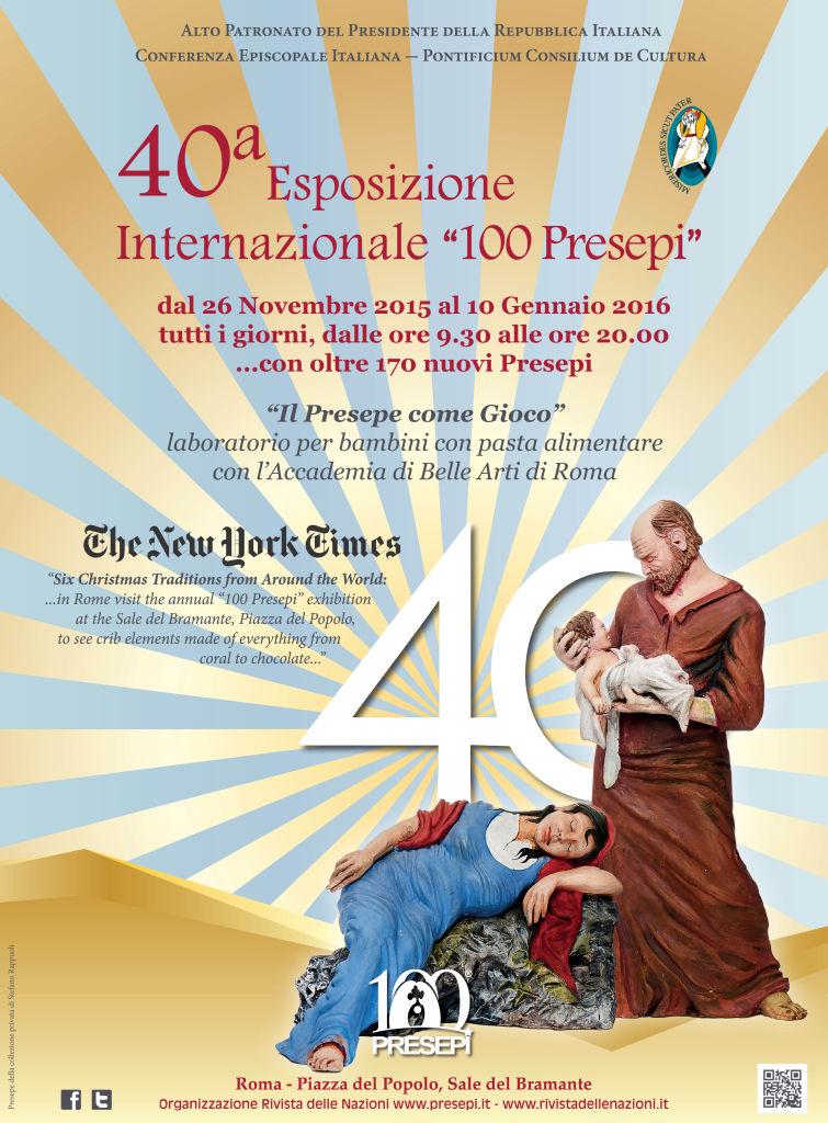 100 presepi Roma