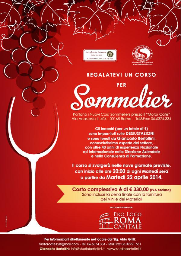 Corso per Sommelier 2014 al Motor Café