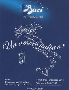"""Baci Perugina in Mostra """"Un amore italiano"""""""