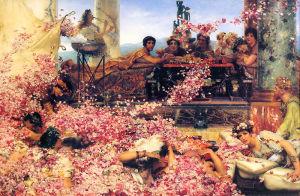 Un banchetto organizzato dall'Imperatore Eliogabalo