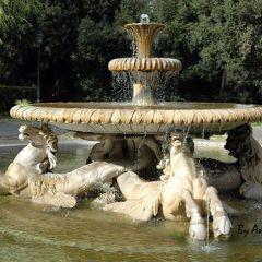 Angelo Mele – Fontana dei Cavalli Marini – Villa Borghese