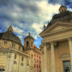 Angelo Mele – Chiese gemelle – Piazza del Popolo