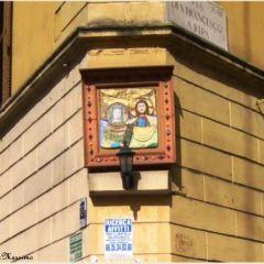 Massimo delle Fratte – Via di San Francesco a Ripa – Edicola