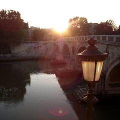 Federica Savo – Tramonto su Ponte Sisto