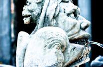 Michele Rallo –  Piazza della Rotonda, dettaglio fontana