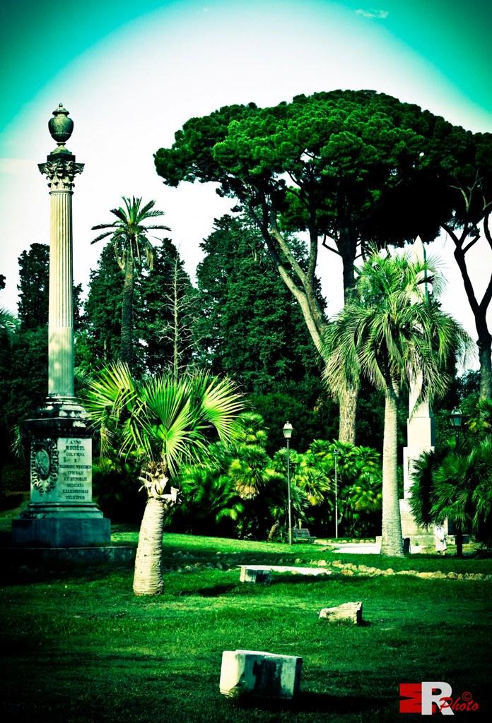 Michele Rallo - Villa Torlonia Scorcio