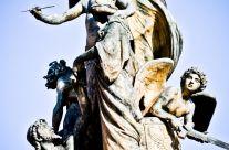 Michele Rallo – Altare della Patria detail – Il pensiero