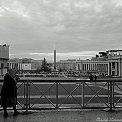 Ornella Simeoni – Vista su Piazza San Pietro