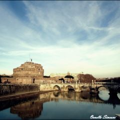 Ornella Simeoni – Vista su Castel Sant'Angelo