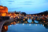 Giulio Marguglio – Tevere e Ponte Sant'Angelo