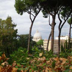 Vincenzo Paolino – Scorcio sulla Cupola di San Pietro