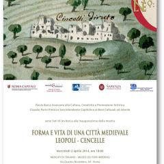 Forma e vita di una città medievale. Leopoli-Cencelle.