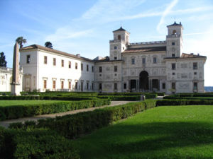L'ingresso di Villa Medici