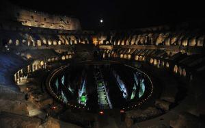 Evento la Luna sul Colosseo