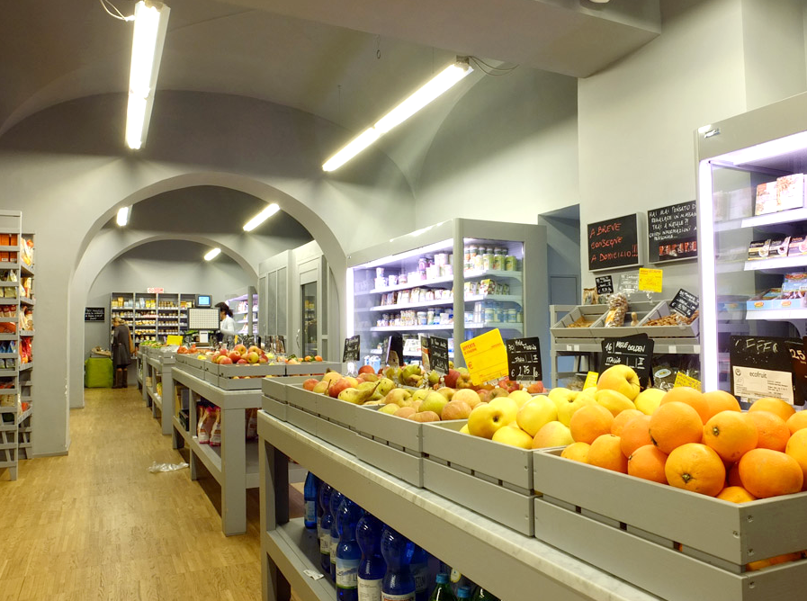 La Capra Rampante: Slow Market, Bio e KmØ