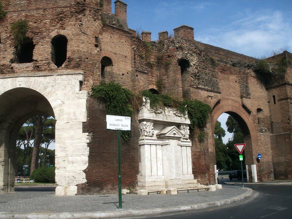 Porta pinciana posterula delle mura aureliane pro loco - Via di porta pinciana 34 roma ...