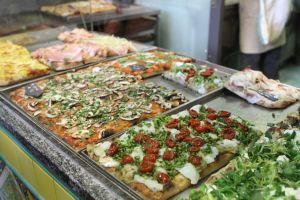 Pizza al taglio da Pizzarium
