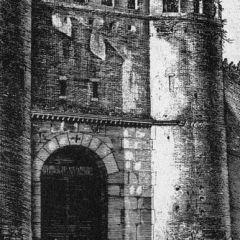 Porta Pinciana, posterula delle Mura Aureliane