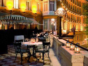 Foto scattata dalla terrazza dell'Hotel Majestic