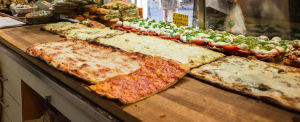 Pizza al taglio al Forno al Roscioli