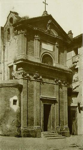 La Chiesa di Santa Maria in Grottapinta a Roma